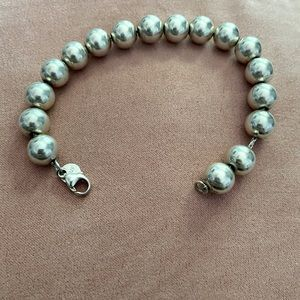 Tiffany&Co Silver ball bracelet